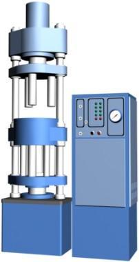 Машина гидравлическая для прессования образцов из асфальтобетонных смесей ПО-500.