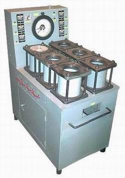 Установка УВФ-6 для испытания бетонных образцов