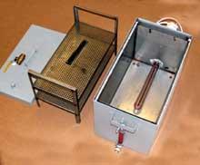 Бачок для пропаривания образцов цемента БП-25