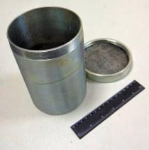 Стакан КП-124 герметичный металлический